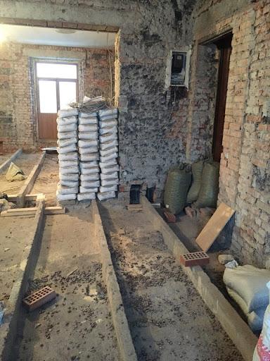 Комната после демонтажных работ