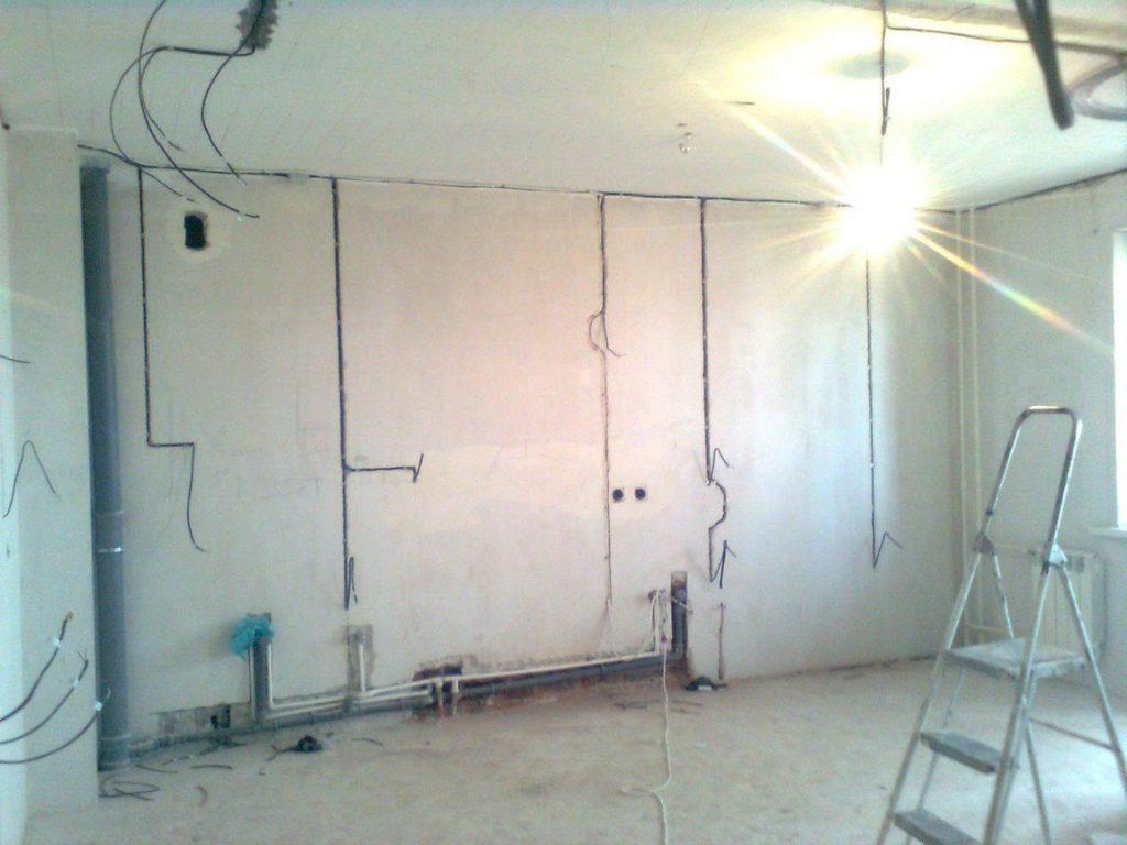 монтаж отопления электрики предчистовая отделка