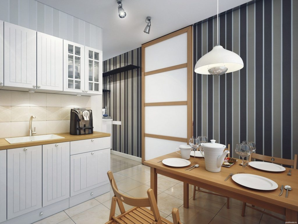 Блог Отделка стен на кухне Обои